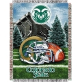 "Colorado State Rams NCAA College ""Home Field Advantage"" 48""x 60"" Tapestry Throw"