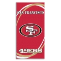 "San Francisco 49ers NFL 30"" x 60"" Terry Beach Towel"
