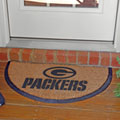Green Bay Packers NFL Half Moon Outdoor Door Mat