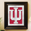 Indiana Hoosiers NCAA College Laser Cut Framed Logo Wall Art