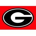 "Georgia Bulldogs NCAA College 39"" x 59"" Acrylic Tufted Rug"
