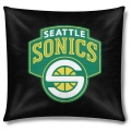 "Seattle Supersonics NBA 18"" x 18"" Cotton Duck Toss Pillow"