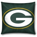 "Green Bay Packers NFL 16"" Embroidered Plush Pillow with Applique"