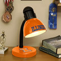 Illinois Illini NCAA College Desk Lamp