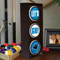 Carolina Panthers NFL Stop Light Table Lamp