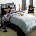 Pittsburgh Pirates MLB Authentic Team Jersey Bedding Twin Size Comforter / Sheet Set