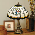Pittsburgh Steelers NFL Stained Glass Tiffany Table Lamp