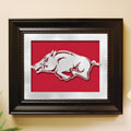 Arkansas Razorbacks NCAA College Laser Cut Framed Logo Wall Art