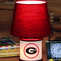 Georgia UGA Bulldogs NCAA College Accent Table Lamp