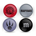 Toronto Raptors Custom Printed NBA M&M's With Team Logo