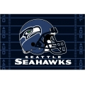 "Seattle Seahawks NFL 39"" x 59"" Tufted Rug"