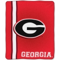 "Georgia Bulldogs College ""Jersey"" 50"" x 60"" Raschel Throw"
