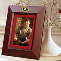 "Georgia UGA Bulldogs NCAA College 10"" x 8"" Brown Vertical Picture Frame"