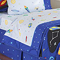 Olive Kids Out of this World Queen Sheet Set