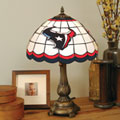 Houston Texans NFL Stained Glass Tiffany Table Lamp