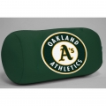 "Oakland Athletics MLB 14"" x 8"" Beaded Spandex Bolster Pillow"