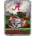 "Alabama Crimson Tide NCAA College ""Home Field Advantage"" 48""x 60"" Tapestry Throw"