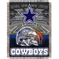 "Dallas Cowboys NFL ""Home Field Advantage"" 48"" x 60"" Tapestry Throw"