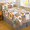 Play Ball Full Patch Quilt Set