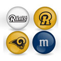 St. Louis Rams Custom Printed NFL M&M's With Team Logo