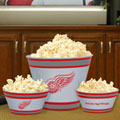 Detroit Redwings NHL Melamine 3 Bowl Serving Set
