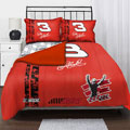 "Dale Sr 3 NASCAR Twin Comforter Set with 2 Shams 63"" x 86"""