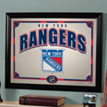 New York Rangers NHL Framed Glass Mirror