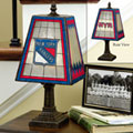 New York Rangers NHL Art Glass Table Lamp