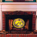 Iowa Hawkeyes NCAA College Stained Glass Fireplace Screen