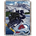 "Colorado Avalanche NHL Style ""Home Ice Advantage"" 48"" x 60"" Tapestry Throw"
