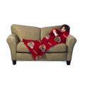 San Francisco 49ers NFL Juvenile Fleece Comfy Throw