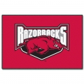 "Arkansas Razorbacks NCAA College 39"" x 59"" Acrylic Tufted Rug"