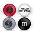 Portland Trail Blazers Custom Printed NBA M&M's With Team Logo