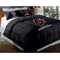 "Cincinnati Bengals NFL Twin Chenille Embroidered Comforter Set with 2 Shams 64"" x 86"""