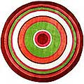 "Concentric 3 Rug (51"" Round)"