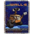 "Wall-E Eco Friendly 48"" x 60"" Metallic Tapestry Throw"