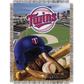 "Minnesota Twins MLB ""Home Field Advantage"" 48"" x 60"" Tapestry Throw"