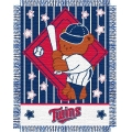 "Minnesota Twins MLB Baby 36""x 46"" Triple Woven Jacquard Throw"