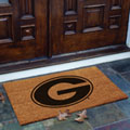 Georgia UGA Bulldogs NCAA College Rectangular Outdoor Flocked Door Mat