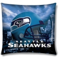 "Seattle Seahawks NFL 18"" Photo-Real Pillow"