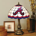 Atlanta Braves MLB Stained Glass Tiffany Table Lamp
