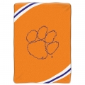 "Clemson Tigers College ""Force"" 60"" x 80"" Super Plush Throw"