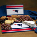 New England Patriots NFL Glass Cutting Board Set