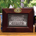 "Boston Bruins NHL 8"" x 10"" Brown Horizontal Picture Frame"