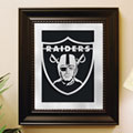 Oakland Raiders NFL Laser Cut Framed Logo Wall Art