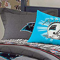 Carolina Panthers NFL Team Denim Pillow Sham