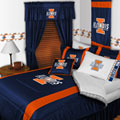 Illinois Illini Side Lines Comforter / Sheet Set