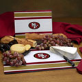 San Francisco 49ers NFL Glass Cutting Board Set