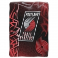 "Portland Trail Blazers NBA ""Tie Dye"" 60"" x 80"" Super Plush Throw"