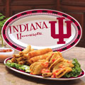 "Indiana Hoosiers NCAA College 12"" Ceramic Oval Platter"